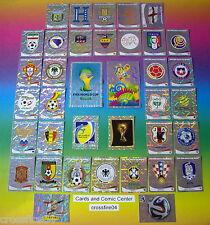 Panini WM 2014 Brasilien Sticker / Team Logos / Wappen Sondersticker aussuchen