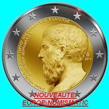 """GRECE 2013 2 EURO COMMEMORATIVE """" PLATON """"   PREVENTE   PRIX TOP :  3,65 €"""