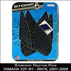 STOMPGRIP Pads de tracción,YAMAHA yzf-r1,07-08,RN19,negro,Protector depósito,