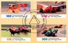 BRD 1999: Sporthilfe Nr. 2031 - 2034 mit Bonner Ersttagssonderstempel! 1A! 1807