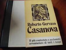 GERVASO, CASANOVA, Rizzoli 1974. dedica