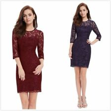 Party Lace Dresses for Women's Tea