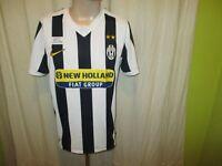 "Juventus Turin Original Nike Heim Trikot 2009/010 ""NEW HOLLAND FIAT"" Gr.M TOP"