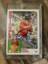 2012 Topps Archives Bryce Harper RC Auto/autograph SSP