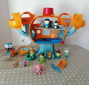 Octonauts Octopod Toy Bundle With Figures And Creatures + Octo Alert with sounds