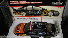 1/18 CLASSIC HOLDEN VZ COMMODORE PAUL MORRIS SIRROMET 2005 V8 SUPERCAR #67 18183