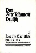 Das Alte Testament Deutsch 3 / Erste Buch Mose Kap.12,10-25,18 / Gerhard von Rad