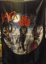SLAYER Live Undead FLAG CLOTH POSTER TAPESTRY BANNER CD DVD Thrash Metal