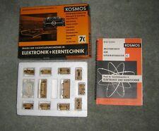Kosmos Radio+Elektronik 7C Kerntechnik 1961 kein Radiomann schön ulttrarar