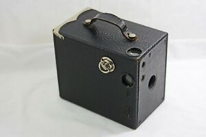 ANTIQUE VINTAGE ANSCO NO. 3 BUSTER BROWN BOX CAMERA 1906