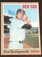 1970 Topps Carl Yastrzemski Card #10 EX - Red Sox HOF