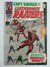 Captain Savage and his Leatherneck Raiders (1967) #5 - Fine