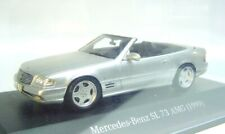 1:43 SPARK 1999 MERCEDES-BENZ SL 73 AMG (R129) silver L.E. 500 pcs. MUSEUM PROMO