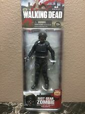 Walking Dead Series 4 Action Figure New Gas Mask Riot Gear Zombie McFarlane