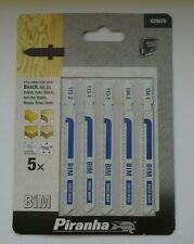 5 x Piranha Jigsaw Blades for Wood/Plastic  X29075