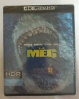 The Meg 4k Ultra HD & Blu-ray *NEW* Ships QUICK (Blu ray / bluray)
