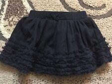 Baby Gap Black Skirt Size 0-3 Months Euc BabyGap