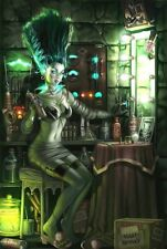 The Bride Of Frankenstein Monster Girls Sexy Sticker or Magnet