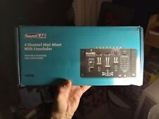 Soundlab 4 Channel Mini Mixer - in excellent condition with power supply