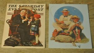 Norman Rockwell Blank Cards Prints From The Saturday Night Evening Post, Lot 2