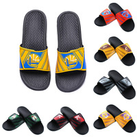 NBA Basketball 2017 Mens Legacy Logo Sport Slide Sandals Flip Flops - Pick Team