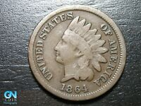 1864 BR Indian Head Cent Penny  --  MAKE US AN OFFER!  #B4491