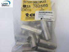 15x Ta Techspan 762586 Battery Cable Splice Copper Connector 30 New