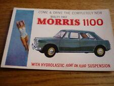 """MORRIS 1100 ORIGINAL POSTCARD """" BROCHURE """""""