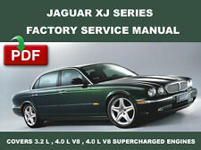 1998 1999 2000 2001 2002 2003 JAGUAR XJ XJ8 XJR FACTORY WORKSHOP REPAIR MANUAL