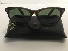 Ray-Ban RB 2132 New Wayfarer Prescription Eye Glasses Signature Black Hard Case