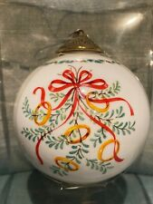 Wedgwood Twelve Days Of Christmas Ball Ornament Five Golden Rings
