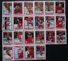 1990-91 O-Pee-Chee Detroit Red Wings Team Set of 22 Hockey Cards