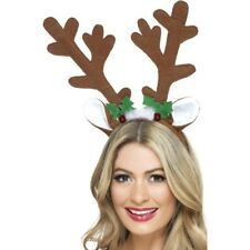 Reindeer Antlers Nativity Christmas Play Fancy Dress Accessory Rudolph