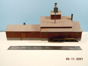 HO Factory & Warehouse - Detailed, Weathered & Ready to Install
