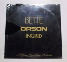 BETTE DAVIS/ORSON WELLES/INGRID BERGMAN LP Mark56 848 US 1982 SEALED M 4D