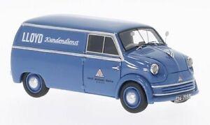 LLOYD LT 500 CUSTOMER SERVICE 1955 1:43 MODELLINO AUTO FURGONE NEO SCALE MODELS