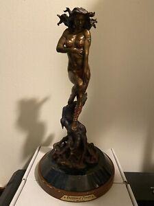 Franklin Mint Empress Of Desire Hot Cast Bronze Sculpture By Boris Vallejo
