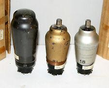 3x Modell Valvo AF3 Telefunken AF7 & AL4 * Röhre Valve Tube * Used * 1958 * 8965