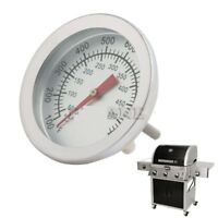 Smoker Grill Food Thermometer Stainless Steel Bbq Barbecue Temperature Gauge