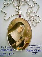 Medaglia devozionale A Santa Rita de Casia ceramica di alta qualità
