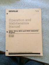 Caterpillar 3003, 3013, 3014, 3024 Operation And Maintenance Manuel