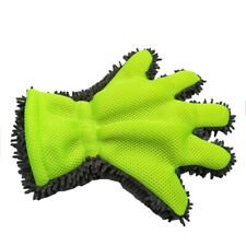 1x Car Washing Microfiber Chenille Finger Mitt Auto Cleaning Gloves Dust Washer