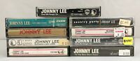 Lot of 9 JOHNNY LEE Cassette Tapes ~ New Directions, Country Party + More