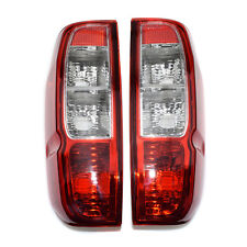 New Pair Rear Tail Light Lamps w/o Bulbs fit 05-12 Nissan D40 Navara Frontier