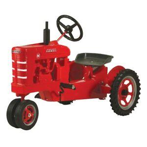 "International Harvester Farmall M ""White Stripe Grill"" Pedal Tractor FB-6510"