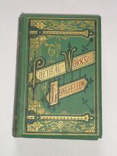 THE POETICAL WORKS OF LONGFELLOW Poetry / Poems / Poets / Beautiful Binding 1865