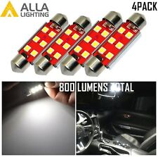 Alla Lighting 4pcs 6-LED Trunk Cargo Luggage Light Bulb Replacement White, 211-2