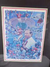 Georgia Bulldogs Football Dooley Athletic Heritage Collage artwork print UGA