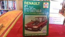 RENAULT 21 DIESEL MANUEL D'ENTRETIEN ET REPARATION AUTO 1999 (209R9)