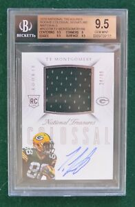 Ty Montgomery AUTO JSY rookie card #d - National Treasures Packers autograph RC